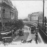 La petite ceinture vue Gare d'Auteuil