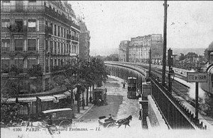 Bld Exelmans vue gare d'Auteuil