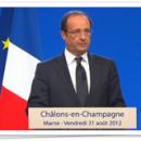 François Hollande : «des choix dans le bon ordre, dans le bon rythme et dans la bonne direction»