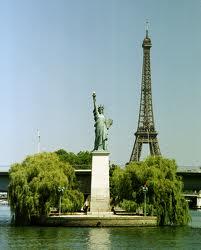 Iles aux cygnes - côté Statue de la liberté- un espace de remise en forme gratuit et pour tous dans Cadre de vie - culture statut-de-la-liberte-et-tour-eiffel