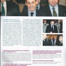 Photo trafiquėe – Goasguen se permet de laisser effacer la légion d'honneur de N Sarkozy en couverture de son journal de député -Maire