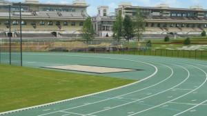 La piste d'Athlétisme