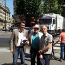 Thomas Lauret à la rencontre des habitants du quartier d'Auteuil samedi 6 juillet 2013