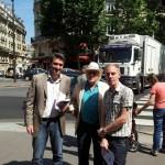 Auteuil 6 juillet Thomas Emilio et Michel