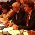 Ghislaine Salmat, Jean-Yves Mano, Thomas Lauret en conseil d'arrondissement le 30 septembre 2013