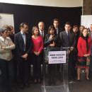 Thomas LAURET aux côtés d'Anne HIDALGO avec les têtes de listes parisiennes – la scolarisation des enfants est le pilier de leur intégration