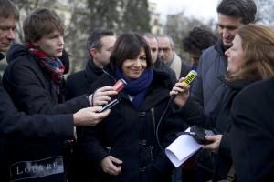 AH TL et journalistes av Foch