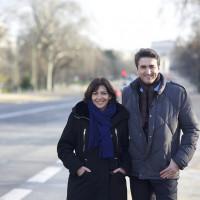 Grand projet 2014-2020. Sur le terrain Avenue Foch, Université Dauphine, avec Anne Hidalgo et Thomas Lauret