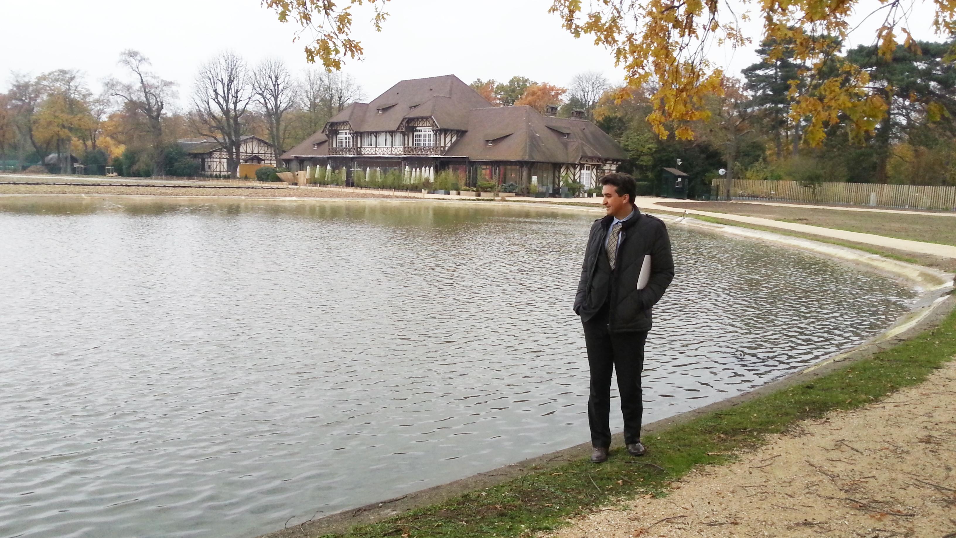 Lac des patineurs avec TL - phot D Menard