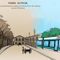 Conseil de Paris – Bouclage du T3 dans le 16e. Nous appelons la Ville et la Région à s'engager pour un Tramway et non pas un bus