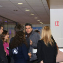 Images – Anne Hidalgo et Thomas Lauret avec les étudiants de Dauphine – Dauphine Débat
