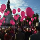 Thomas Lauret et Muriel Hermine contre le cancer du sein
