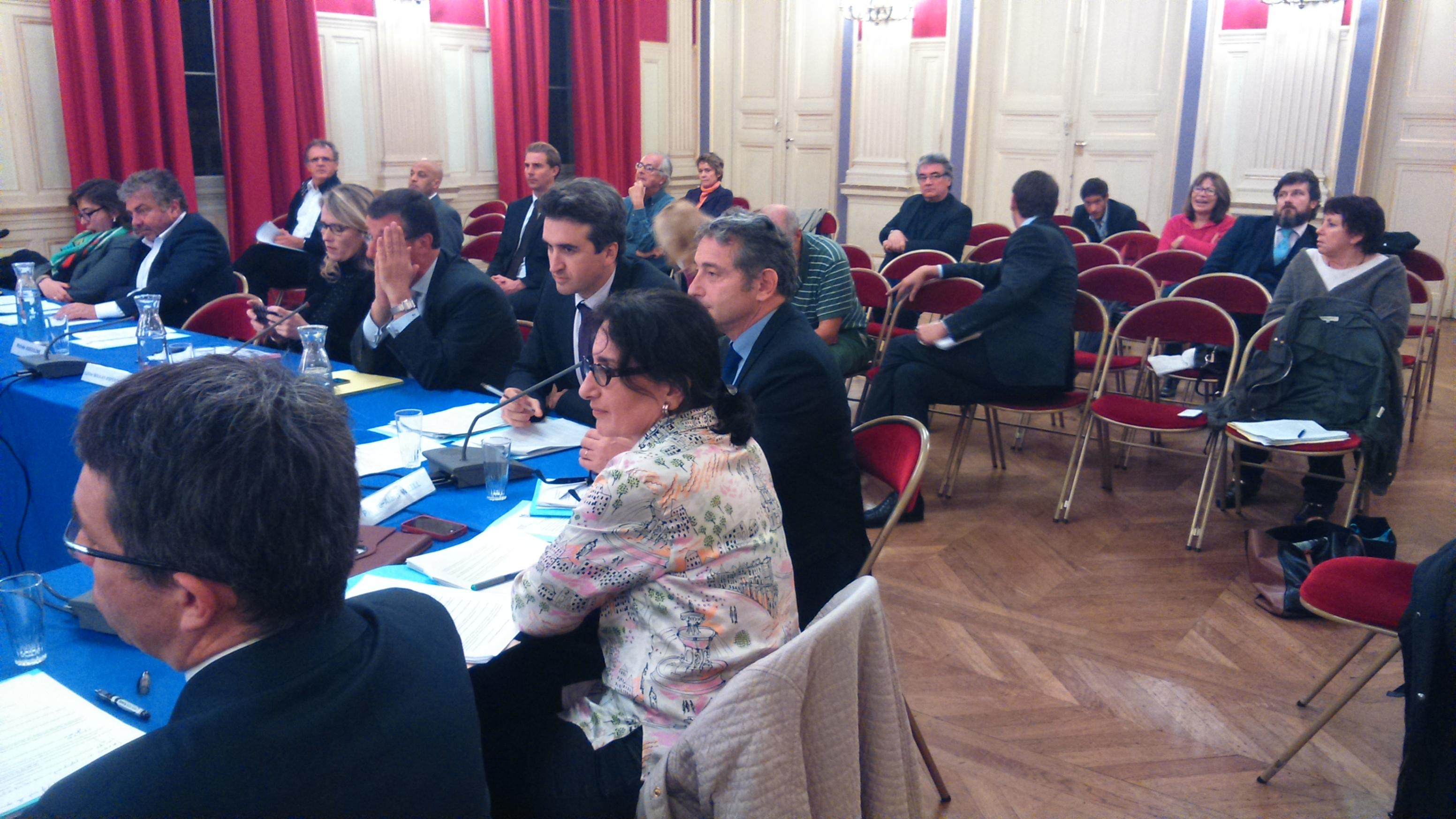 Thomas Lauret Pierre Alain Weill Ghislaine Salmat en conseil d'arrondissement le 3 nov 2014
