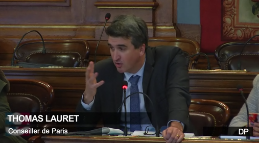Thomas LAURET - conseil de Paris du 12 décembre 2017